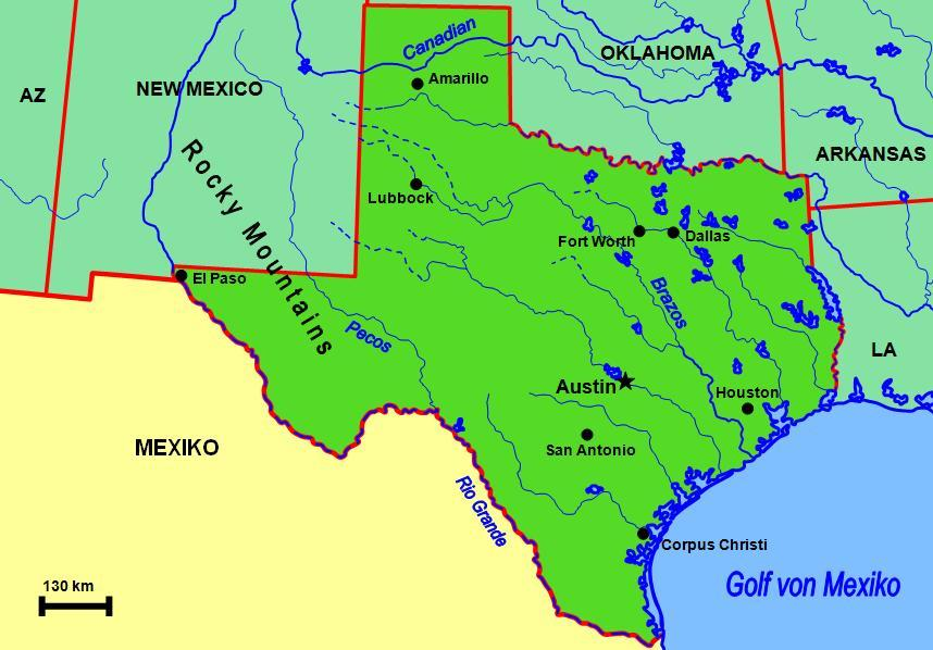 Zeitzone Houston
